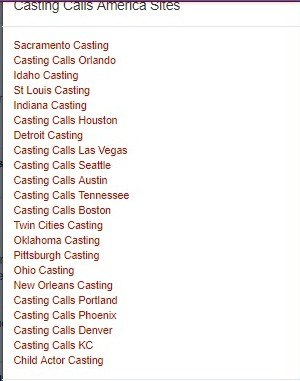 Posting your first role – Casting Calls America LLC